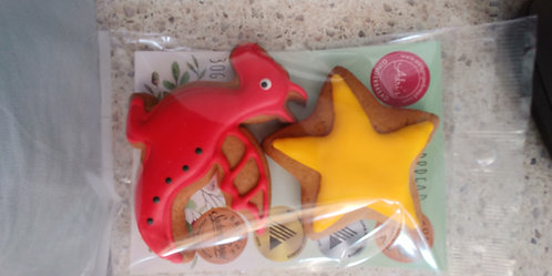 Adri's gingerbread Red dragon