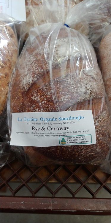La Tartine rye & carraway sourdough