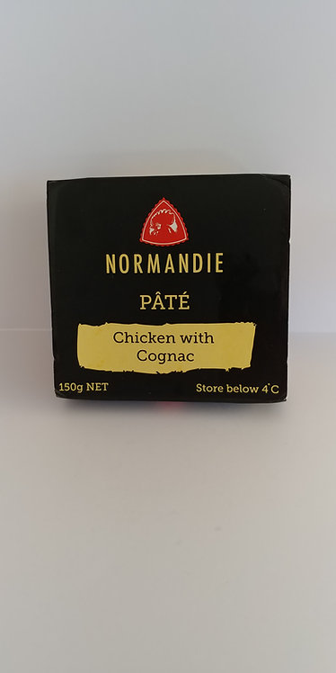 Pate chicken with cognac