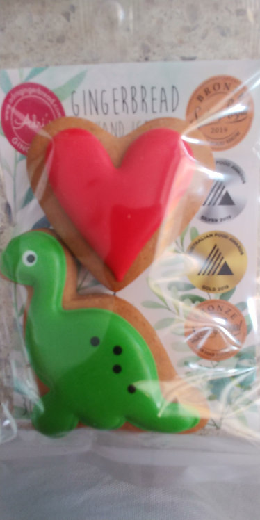 Adri's gingerbread Green dinosaur