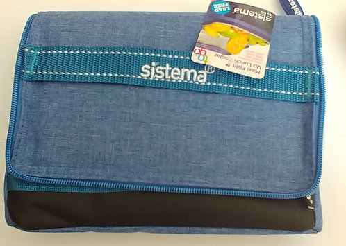 Sistema insulated lunch box Blue