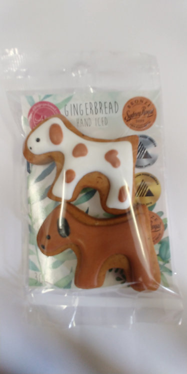Adri's gingerbread 2 dogs