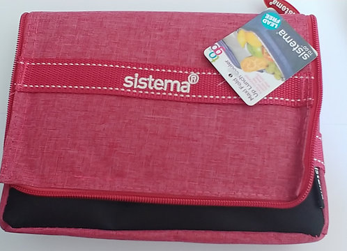 Sistema insulated lunch box Red
