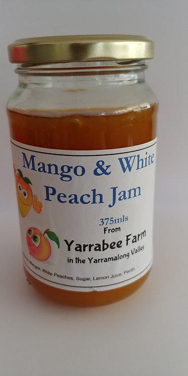 Yarrabee farm mango & white peach jam