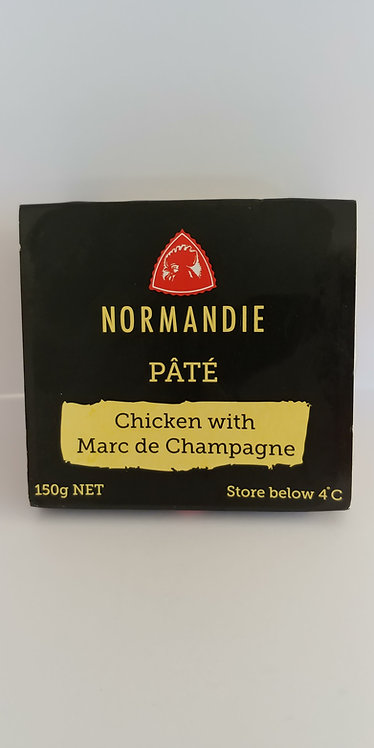 Pate chicken with champagne