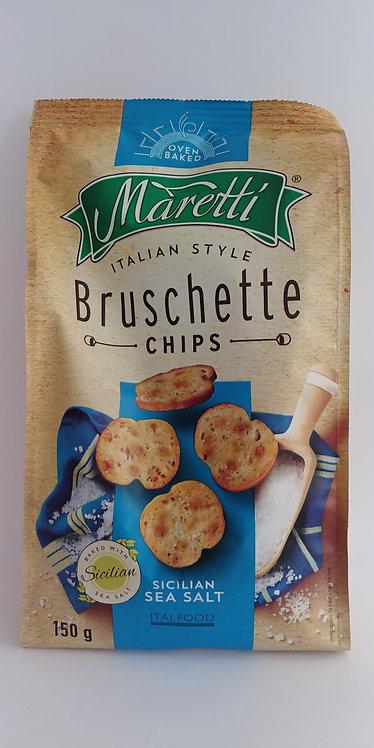 Bruschette chips sea salt