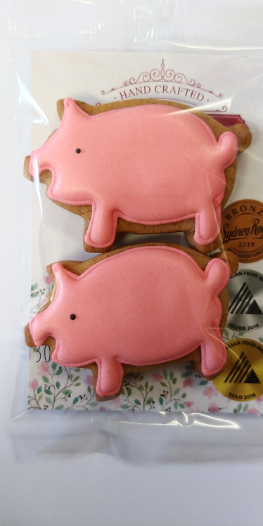 Adri's gingerbread Pigs