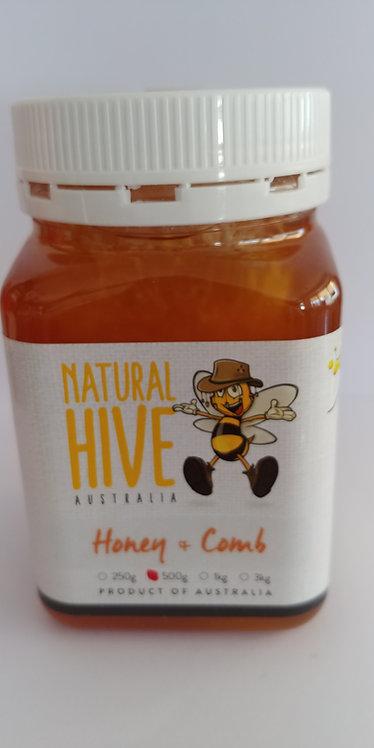 Honey & comb 500g