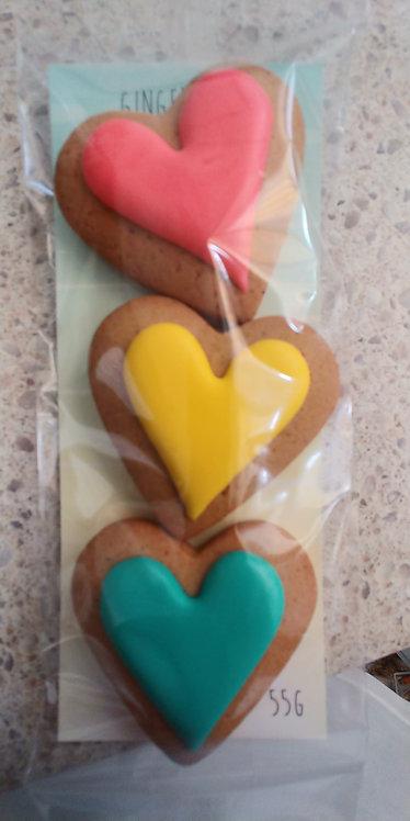 Adri's gingerbread 3 hearts