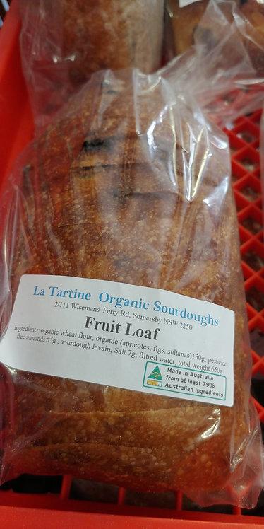 sliced fruit loaf sourdough La Tartine