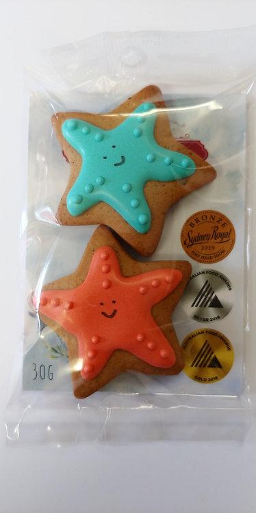 Adri's gingerbread Starfish