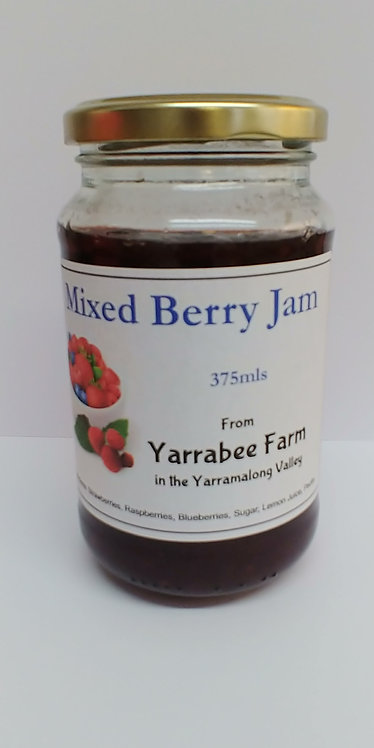Yarrabee Farm Mixed Berry Jam