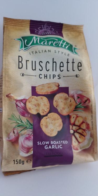Bruschette chips garlic