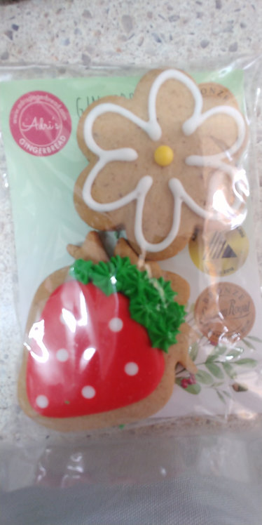 Adri's gingerbread Strawberry