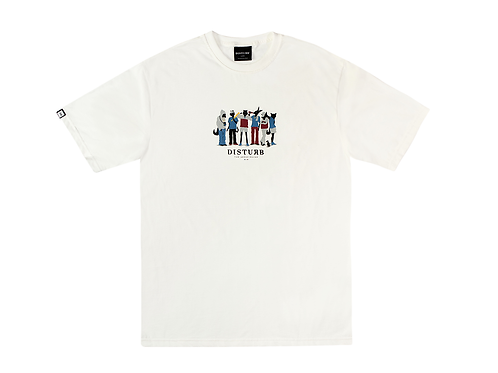 AESOP SQUAD TEE IN OFF WHITE