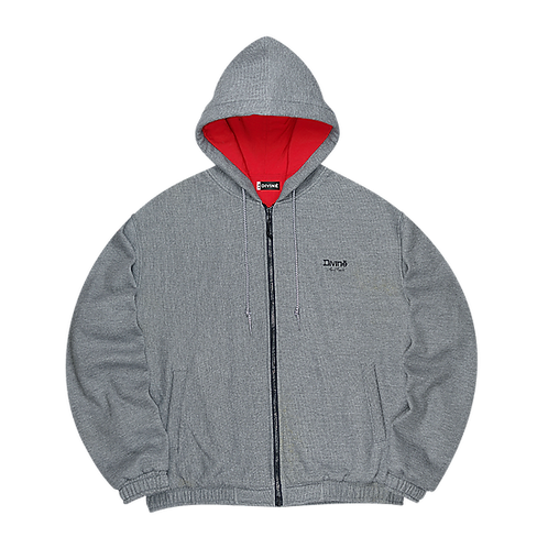MOUTAIN ZIP HOODED
