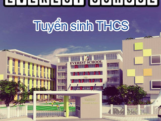 Everest Tuyển sinh THCS 2017 - 2018