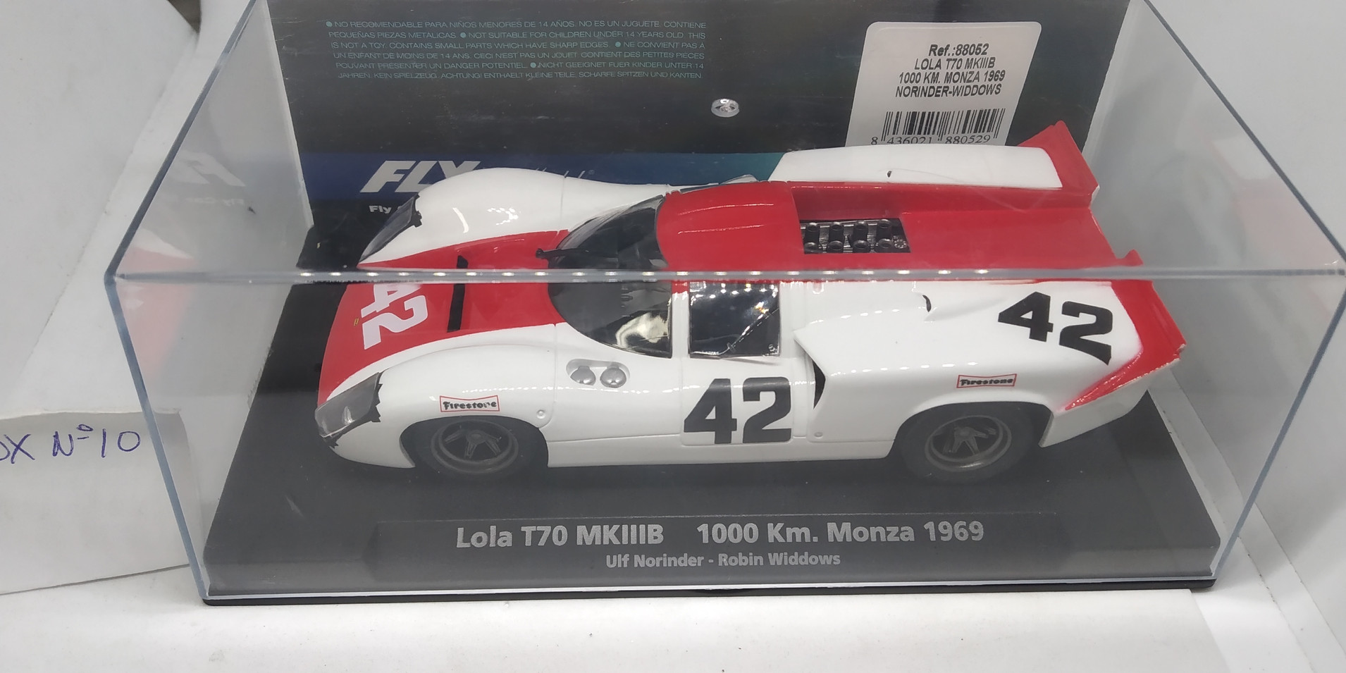 LOLA T70 MKIIIB 1000KM.MONZA 1969, REF.88052 FLY CAR MODEL