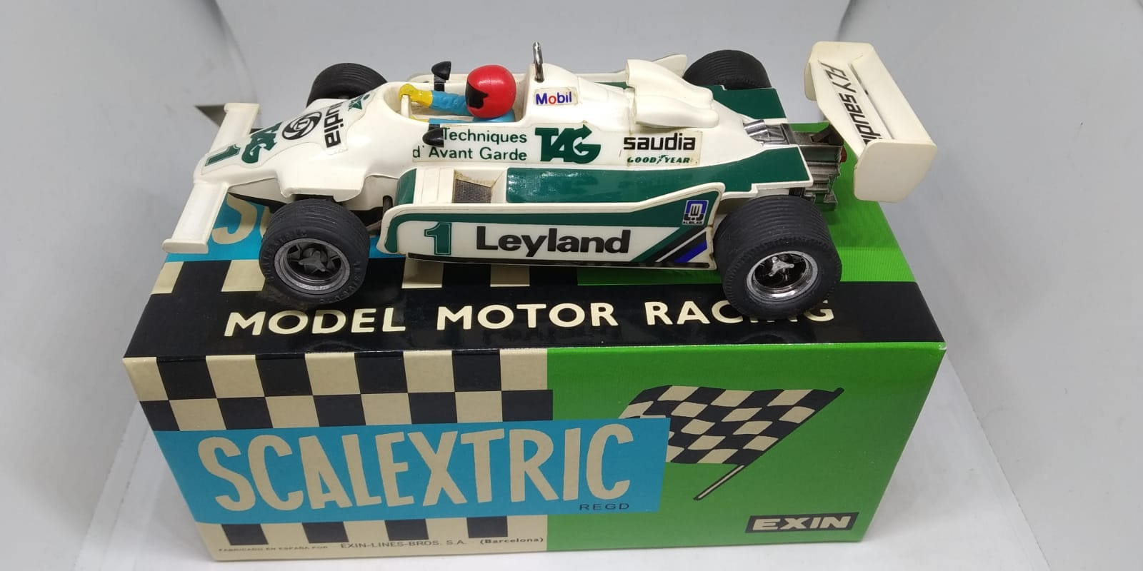 FW WILLIAMS 07, EXIN ,SCALEXTRIC