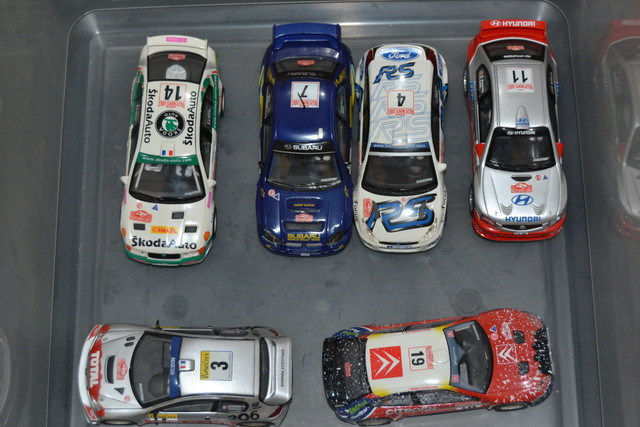 SCALEXTRIC RALLY PRO 6 COCHES