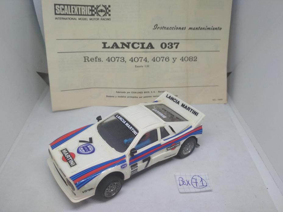 LANCIA 037 MARTINI