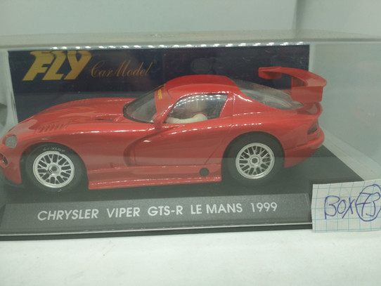 CHRYSLER VIPER GTS-R LE MANS 1999