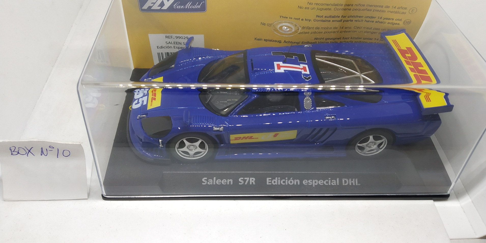 "SALEEN ST7 EDICION ESPECIAL ""DHL"" REF.99029 FLY CAR MODEL"