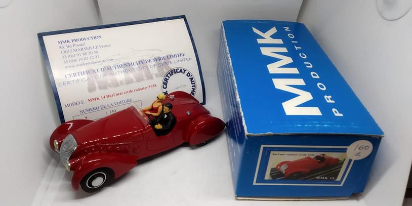 DAR'L MAT CIVILE ROAD CAR RED,MMK RESINA