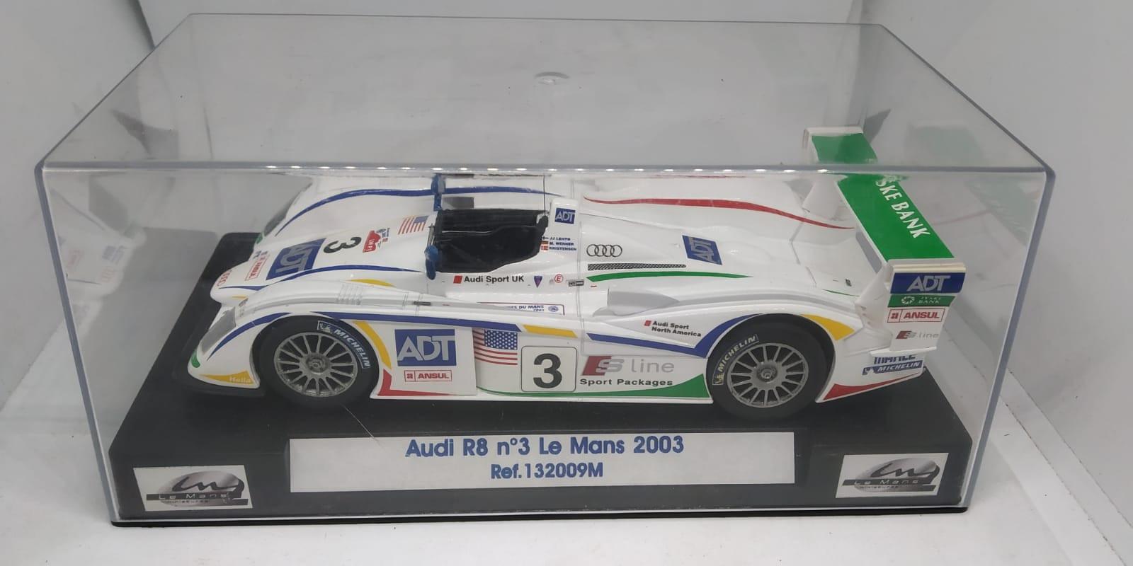 AUDI R8 Nº3 LE MANS 2003,LEMANS MINIATURES