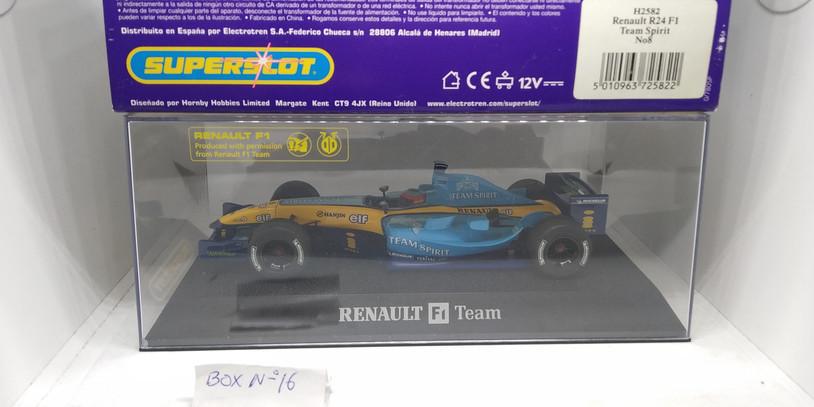 RENAULT R24 F1,TEAM SPIRIT,Nº8,REF.H2582 SUPERSLOT