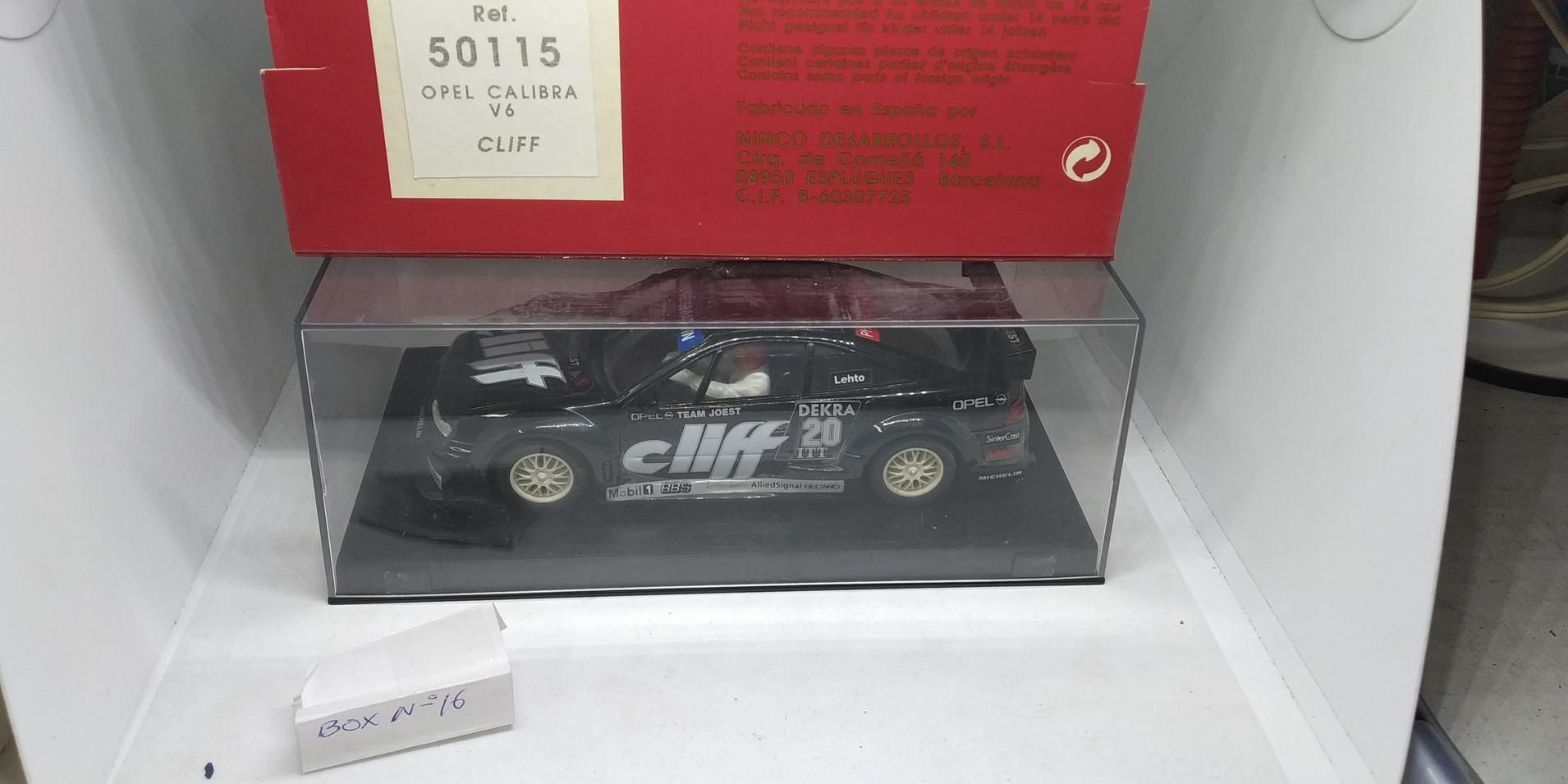 "OPEL CALIBRA V6 ""CLIFF"" REF.50115 NINCO"