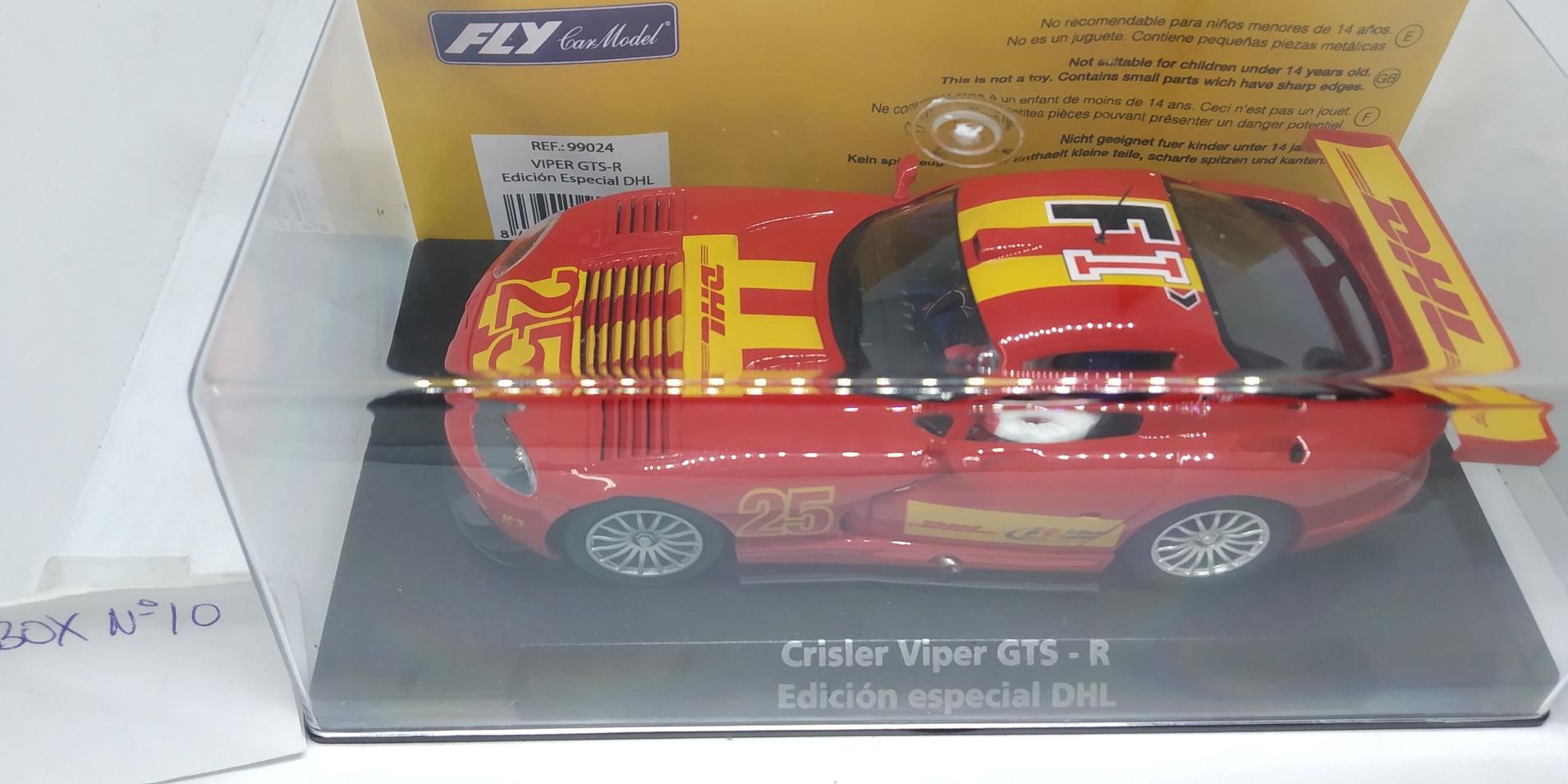 """VIPER GTS-R, EDICION ESPECIAL """"DHL"""" REF.99024 FLY CAR MODEL"""