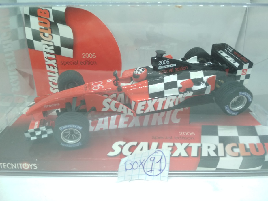 SCALEXTRIC SPECIAL EDITION 2006