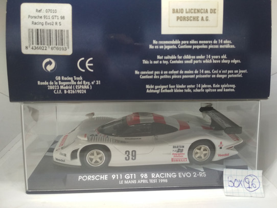 PORSCHE 911 GT1 98 RACING EVO2 R S