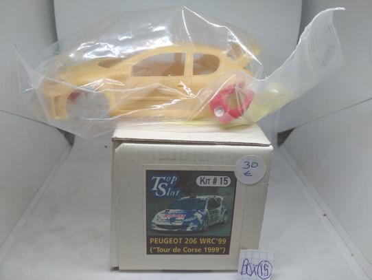 PEUGEOT 206 WRC '99 (TOUR DE CORSE 1999)