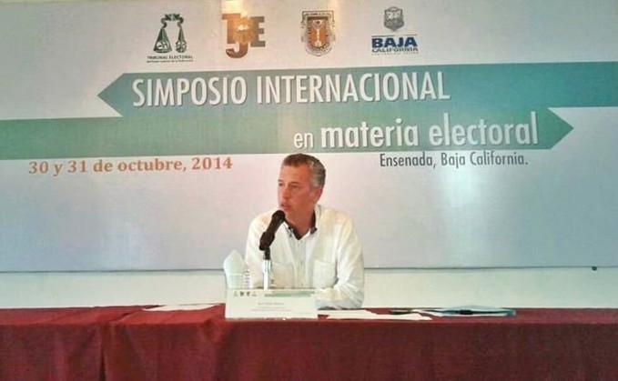 """Simposio Internacional en Materia Electoral: """"Partidos Políticos y Justicia Electoral"""""""
