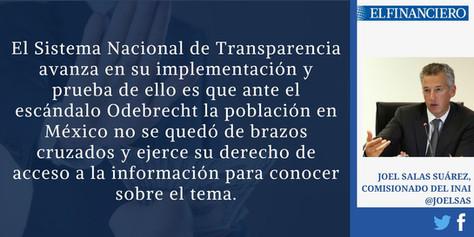El INAI ante la corrupción: el caso Odebrecht