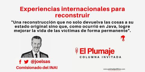 Experiencias internacionales para reconstruir