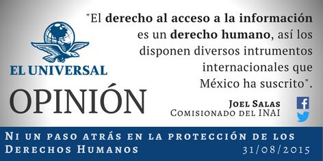 Ni un paso atrás en la protección de los Derechos Humanos