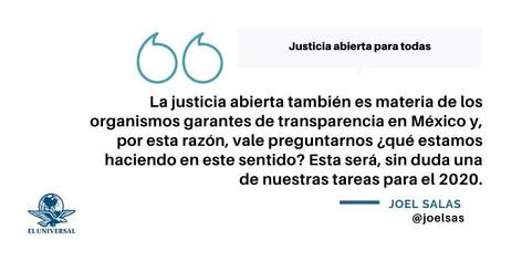 Justicia abierta para todos