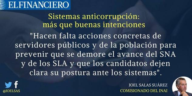 Sistemas anticorrupción: más que buenas intenciones