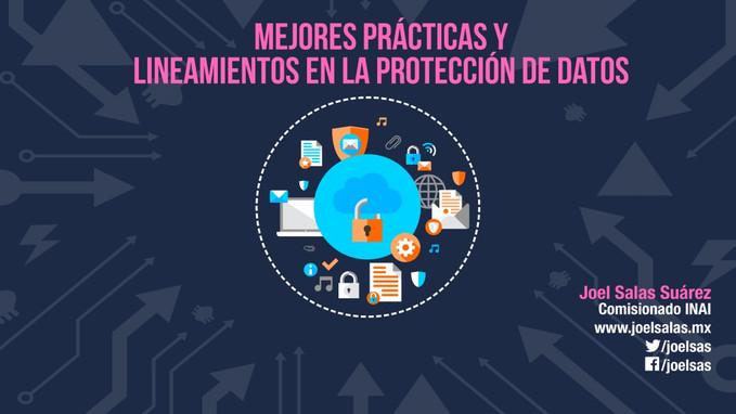 Mejores prácticas y lineamientos en la protección de datos personales