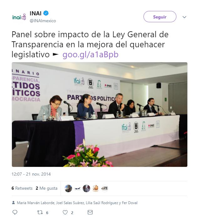 Seminario #transparencia, #partidospolíticos y #democracia