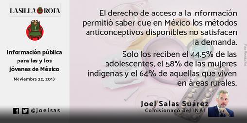 Información pública para las y los jóvenes de México