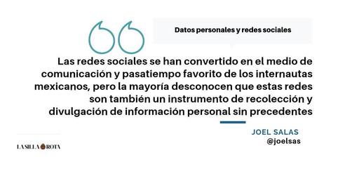 Datos personales y redes sociales