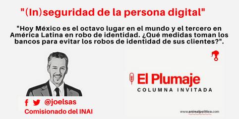 (In) seguridad de la persona digital. 13/ 02/ 17