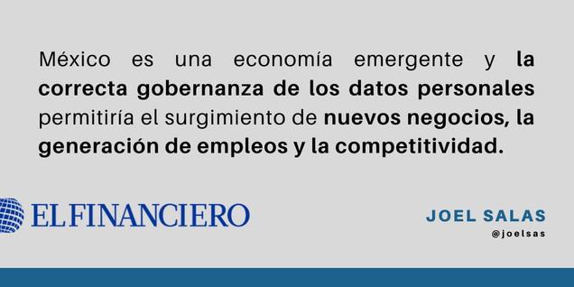 Protección de datos = crecimiento económico