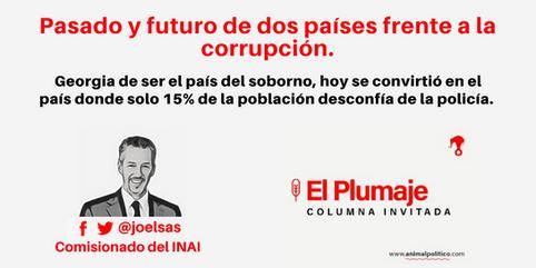 Pasado y futuro de dos países frente a la corrupción
