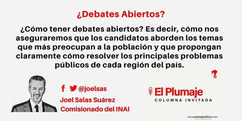 ¿Debates Abiertos?