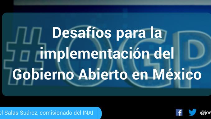 México preside la Alianza para el #GobiernoAbierto @opengovpart